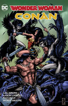 Image: Wonder Woman / Conan HC  - DC Comics