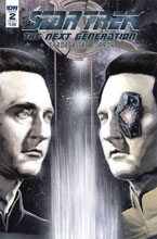Image: Star Trek: TNG - Through the Mirror #2 (cover A - Woodward) - IDW Publishing