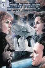 Image: Star Trek: The Next Generation: Through the Mirror #5 (cover A - Woodward) - IDW Publishing