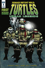 Image: Teenage Mutant Ninja Turtles: Urban Legends #1 (cover A - Fosco)  [2018] - IDW Publishing