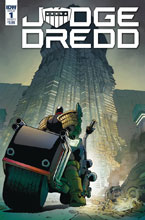 Image: Judge Dredd: Under Siege #1 (cover A - Dunbar) - IDW Publishing