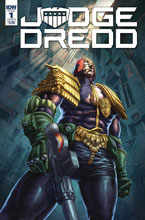 Image: Judge Dredd: Under Siege #1 (cover B - Quah) - IDW Publishing