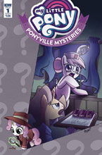 Image: My Little Pony: Ponyville Mysteries #1 (cover A - Garbowska) - IDW Publishing