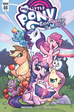 Image: My Little Pony: Friendship Is Magic #66 (incentive cover - Delgado) (10-copy) - IDW Publishing