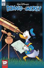 Image: Donald & Mickey Quarterly  (cover A - Freccero) - IDW Publishing