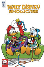 Image: Walt Disney Showcase #5 (Donald Duck Family) (cover A - Faccini) - IDW Publishing