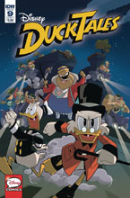 Image: Ducktales #9 (cover A - Ghiglione) - IDW Publishing