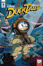 Image: Ducktales #9 (cover B - Ghiglione) - IDW Publishing
