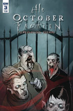 Image: October Faction Supernatural Dreams #3 (cover A - Worm) - IDW Publishing