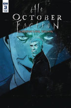 Image: October Faction Supernatural Dreams #3 (cover B - Worm) - IDW Publishing