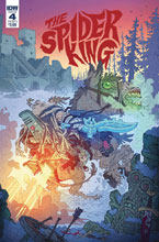 Image: Spider King #4 (cover A - Darmini) - IDW Publishing
