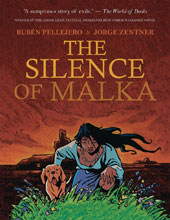 Image: Silence of Malka HC  - IDW Publishing