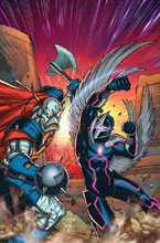 Image: Infinity Countdown: Darkhawk #1 (variant cover - Lim) - Marvel Comics