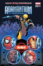 Image: Hunt for Wolverine: Adamantium Agenda #1 (variant cover - Silva) - Marvel Comics