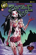 Image: Zombie Tramp #47 (cover A - Celor) - Action Lab - Danger Zone