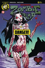 Image: Zombie Tramp #47 (cover B - Celor Risque) - Action Lab - Danger Zone