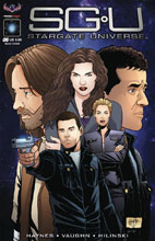 Image: Stargate Universe #6 (main cover - Hilinski) - American Mythology Productions