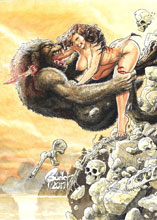 Image: Cavewoman: Lycan Run #1 (cover D - Root) - Amryl Entertainment