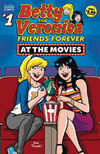 Image: Betty and Veronica: Friends Forever #1 (at the Movies) - Archie Comic Publications