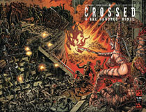 Image: Crossed Plus 100 Mimic #3 (variant History X wraparound cover - Raulo Caceres) - Avatar Press Inc