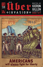 Image: Uber: Invasion #13 (variant Propaganda Poster cover -) - Avatar Press Inc