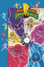 Image: Mighty Morphin Power Rangers #27 (subscription cover - Gibson) - Boom! Studios
