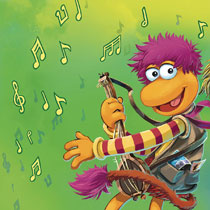 Image: Jim Henson's Fraggle Rock #1 (subscription cover - Myler Connecting) - Boom! Studios