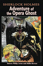 Image: Sherlock Holmes: Adventure of the Opera Ghost SC  - Caliber Entertainment