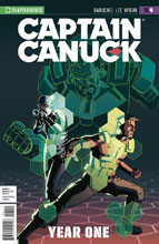 Image: Captain Canuck Year One #4 (variant cover - virgin art) - Chapterhouse Comics