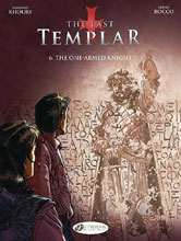 Image: Last Templar Vol. 06: One Armed Knight GN  - Cinebook