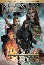 Image: Game of Thrones: Clash of Kings #11 (cover B subscription - Rubi) - Dynamite