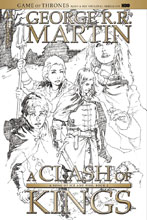 Image: George R. R. Martin's A Clash of Kings #11 (cover D incentive - Rubi B&W) (15-copy) - Dynamite