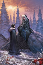 Image: George R. R. Martin's A Clash of Kings #11 (cover E incentive - Miller Virgin) (25-co - Dynamite