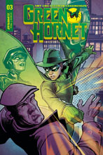 Image: Green Hornet #3 (cover B - Roux) - Dynamite