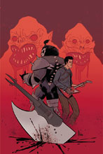Image: KISS The Army of Darkness #4 (cover E incentive - Montes Virgin) (20-copy) - Dynamite
