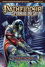 Image: Pathfinder: Spiral of Bones #3 (cover A - Santucci) - Dynamite