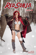 Image: Red Sonja #17 (cover D - Cosplay) - Dynamite