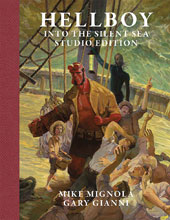 Image: Hellboy: Into the Silent Sea  (Studio Edition) - Flesk Publications