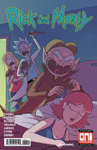 Image: Rick & Morty #38 (cover A - Marc Ellerby, Sarah Stern) - Oni Press Inc.