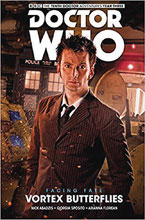 Image: Doctor Who: The 10th Doctor - Facing Fate Vol. 02: Vortex Butterflies SC  - Titan Comics