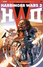 Image: Harbinger Wars 2 #1 (cover A - Jones) - Valiant Entertainment LLC