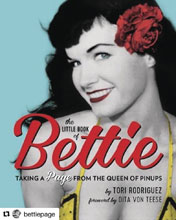 Image: Little Book of Bettie: Taking a Page from the Queen of Pin-Ups  - Running Press