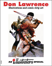 Image: Illustrators Special #3 (Art of Don Lawrence) - Book Palace