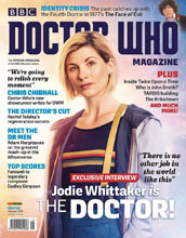 Image: Doctor Who Magazine #526 - Panini Publishing Ltd