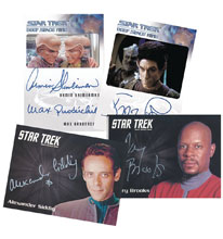 Image: Star Trek: Deep Space Nine Heroes and Villains Trading Cards Box  - Rittenhouse Archives
