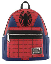 Image: Loungefly Marvel Mini-Backpack: Spiderman Suit  - Loungefly