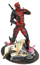 Image: Marvel Gallery PVC Statue: Taco Truck Deadpool  - Diamond Select Toys LLC