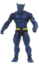 Image: Marvel Select Action Figure: Beast Comic  - Diamond Select Toys LLC