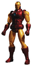 Image: One-12 Collective Marvel Action Figure: Iron Man  - Mezco Toys