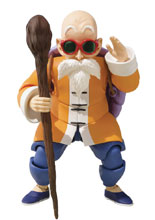 Image: Dragon Ball S.H.Figuarts Action Figure: Master Roshi  - Tamashii Nations